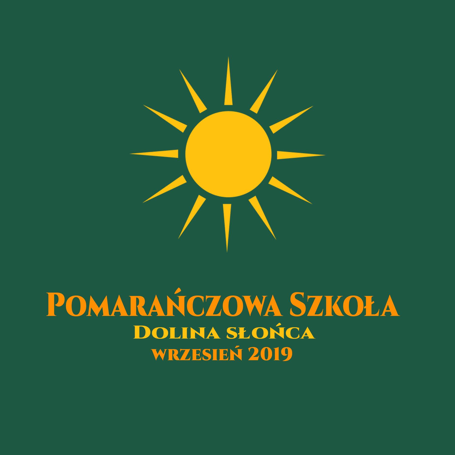 Pomarańczowa Szkoła 2019